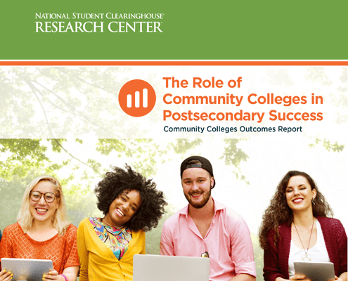 Community Colleges Outcomes Report